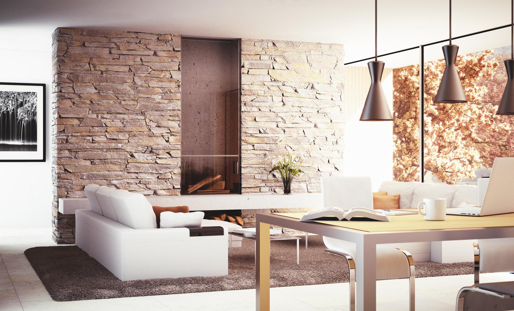 warmes wohnzimmer | wintersohle fliesendesign ? fliesenleger aus brühl - Wohnzimmer Brauntone