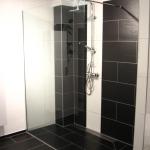 Begehbare Dusche nach Badsanierung