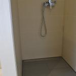 Begehbare Dusch