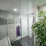 Badezimmer mit Perlmutt Bordüre