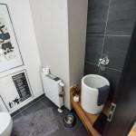 Gäste-WC der Studiowohnung