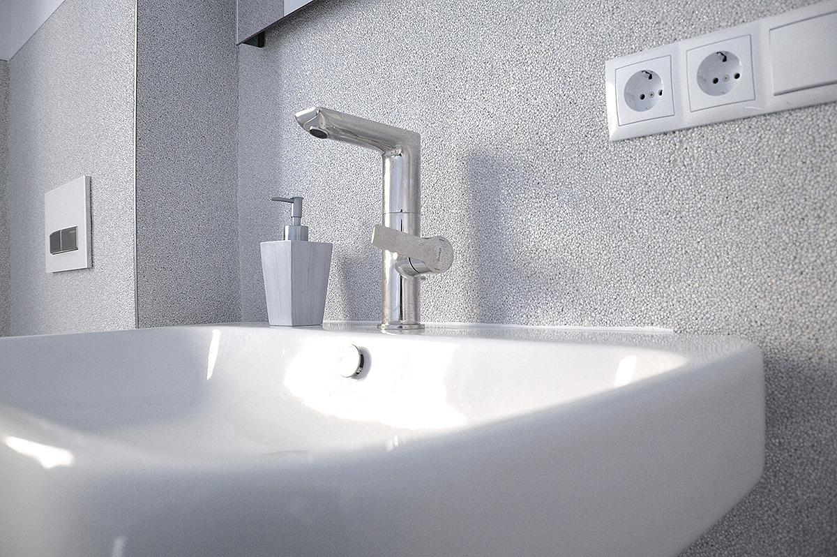 Lithol® Steinteppich im Badezimmer