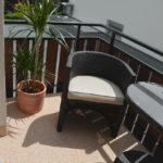 Balkon mit Lithol Steinteppich 3