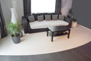 Lithol Steinteppich Wohnzimmer