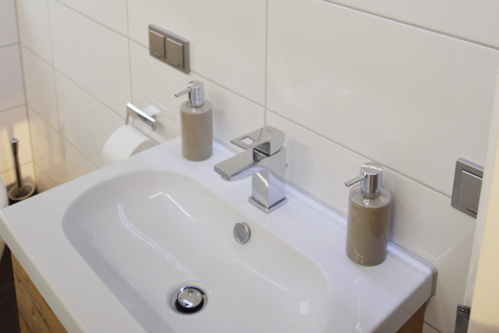 Badezimmer Umbau-Lösung im Altbau