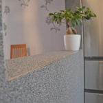 Steinteppich Lithol in der Küche