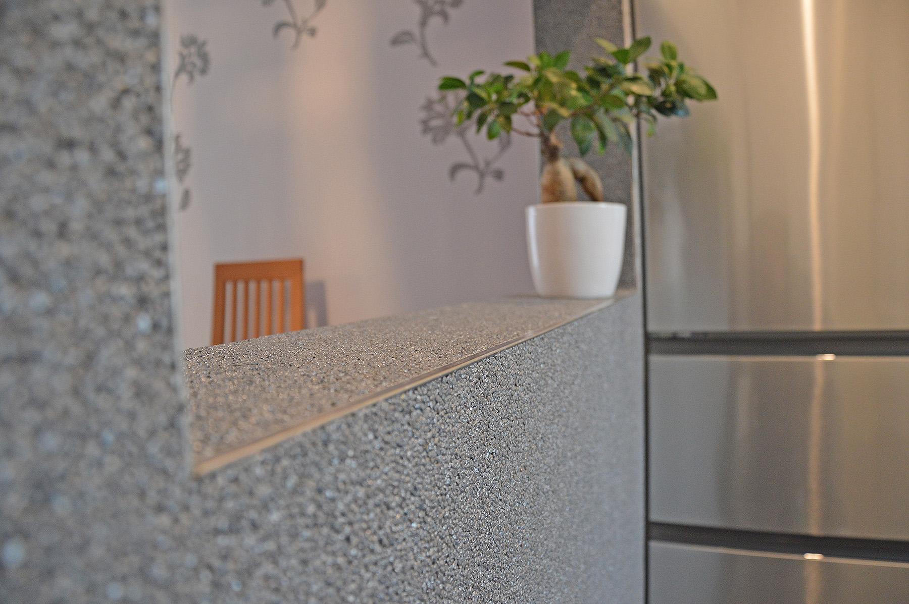 Lithol® Steinteppich in der Küche