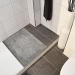 Badsanierung die begehbare Dusche