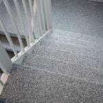 Steinteppich Treppenstufen