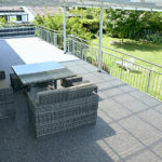 Terrasse mit Steinteppich saniert