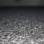 Steinteppich Detailaufnahme eingebaut